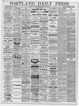 Portland Daily Press: September 25, 1878