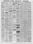Portland Daily Press: September 27, 1878