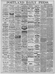 Portland Daily Press: September 30, 1878
