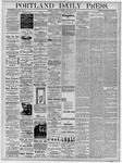 Portland Daily Press: October 1, 1878