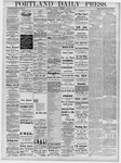 Portland Daily Press: October 3, 1878