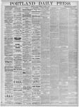 Portland Daily Press: October 4, 1878