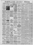 Portland Daily Press: October 5, 1878