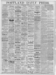 Portland Daily Press: October 7, 1878