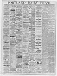 Portland Daily Press: October 9, 1878