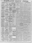 Portland Daily Press: October 12, 1878