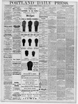 Portland Daily Press: October 16, 1878