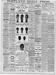 Portland Daily Press: October 18, 1878