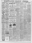 Portland Daily Press: October 23, 1878