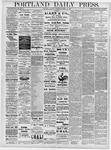 Portland Daily Press: October 24, 1878