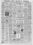 Portland Daily Press: October 25, 1878