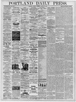 Portland Daily Press: October 29, 1878