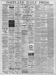 Portland Daily Press: October 31, 1878