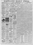 Portland Daily Press: November 2, 1878