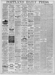 Portland Daily Press: November 5, 1878