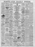 Portland Daily Press: November 6, 1878