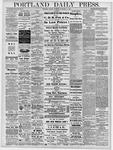 Portland Daily Press: November 11, 1878