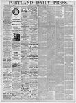 Portland Daily Press: November 16, 1878