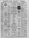 Portland Daily Press: November 18, 1878