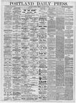 Portland Daily Press: November 21, 1878