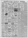 Portland Daily Press: November 26, 1878
