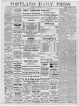 Portland Daily Press: December 13, 1878