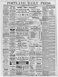 Portland Daily Press: December 16, 1878