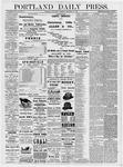 Portland Daily Press: December 25, 1878