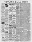 Portland Daily Press: December 28, 1878