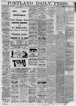 Portland Daily Press: January 01,1881