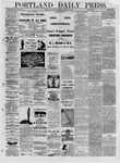 Portland Daily Press: January 03,1881