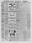 Portland Daily Press: January 04,1881