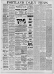 Portland Daily Press: January 11,1881