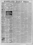 Portland Daily Press: January 14,1881