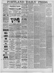 Portland Daily Press: January 15,1881