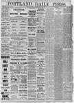 Portland Daily Press: January 20,1881