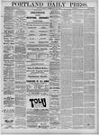 Portland Daily Press: January 22,1881