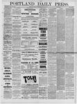 Portland Daily Press: January 25,1881
