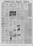 Portland Daily Press: January 26,1881