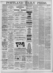 Portland Daily Press: January 27,1881