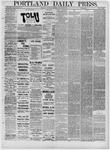 Portland Daily Press: January 29,1881