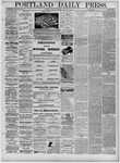 Portland Daily Press: January 31,1881