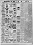 Portland Daily Press: February 03,1881