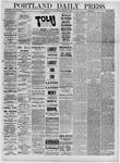 Portland Daily Press: February 08,1881