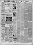 Portland Daily Press: February 09,1881