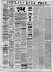 Portland Daily Press: February 10,1881