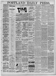 Portland Daily Press: February 12,1881
