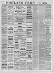 Portland Daily Press: February 24,1881