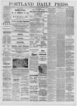 Portland Daily Press: February 25,1881