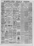 Portland Daily Press: February 26,1881